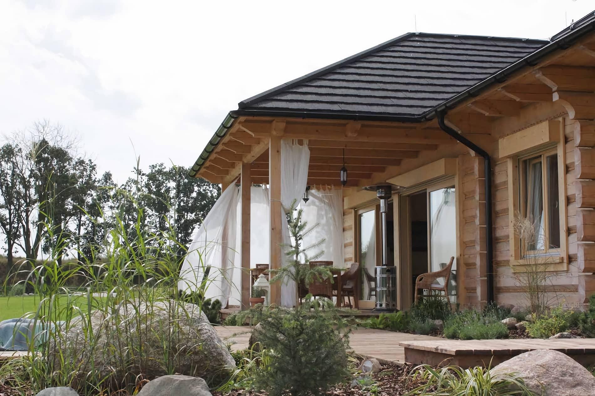projekt architektoniczny wnętrza Dom z Bali - projektowanie wnętrz Prima Wrocław