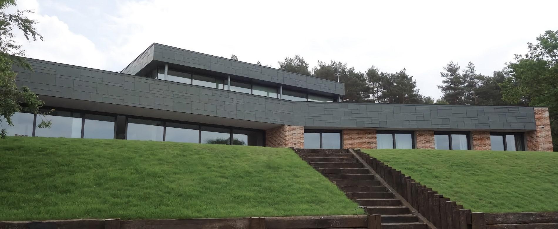 projekt architektoniczny wnętrza Rezydencja pod Poznaniem - projektowanie wnętrz Prima Wrocław