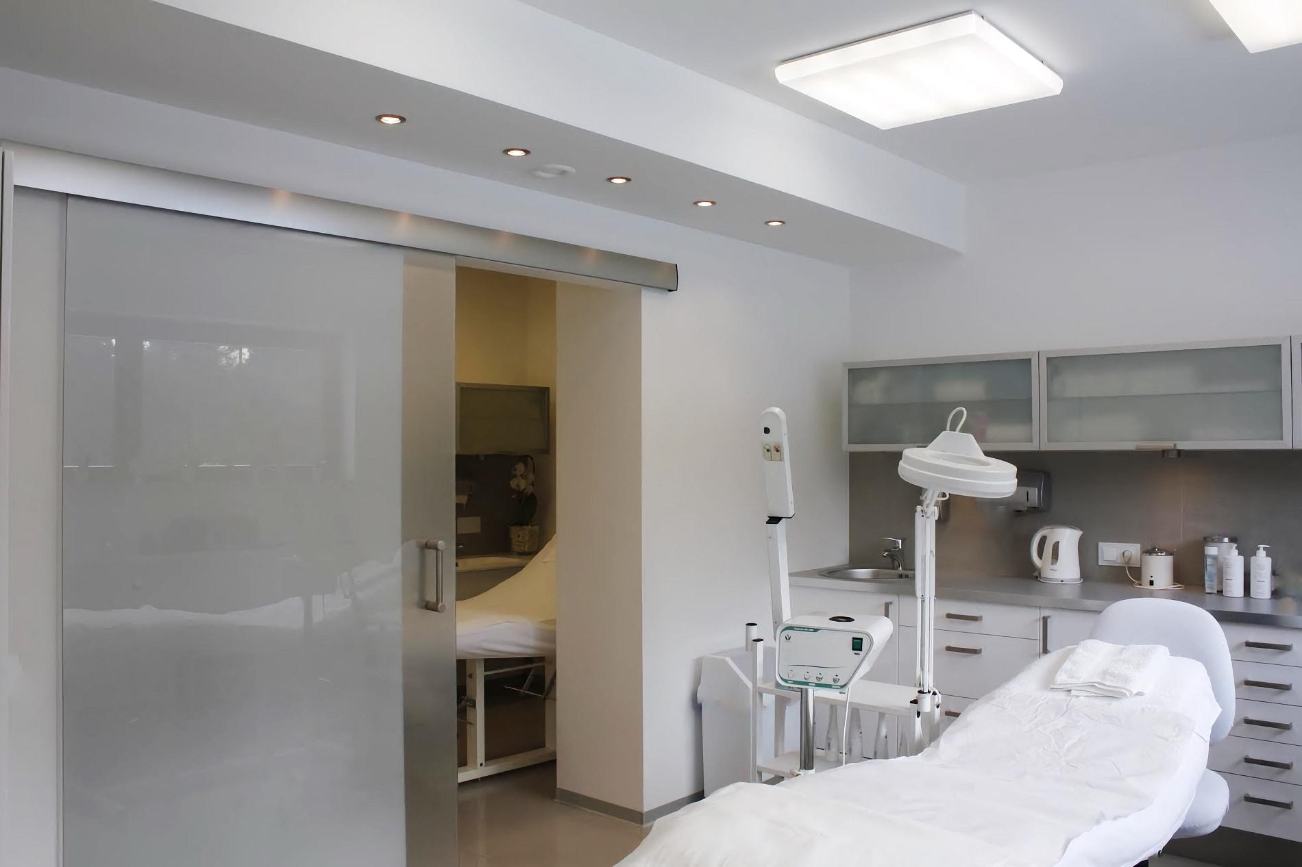 projekt architektoniczny wnętrza Gabinet Dermatologii Estetycznej Evaderm - projektowanie wnętrz Prima Wrocław
